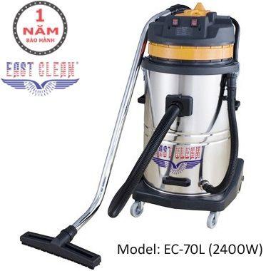 Máy hút bụi EastClean EC-70L-2400W