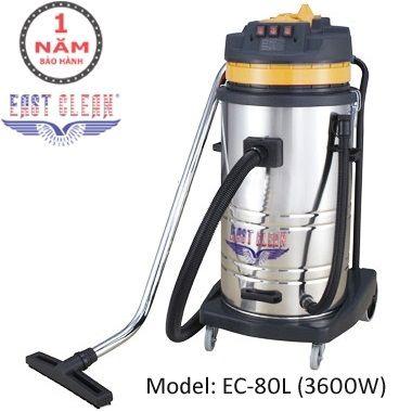 Máy hút bụi EastClean EC-80L-3600W