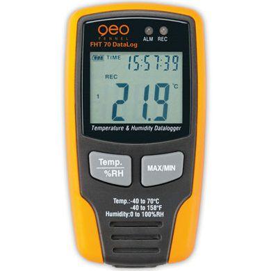 Máy đo độ ẩm và nhiệt độ FHT70 Datalogger geo fennel