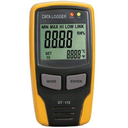 Đồng hồ đo độ ẩm và nhiệt độ phân giải dài M&MPro HMAMT-116