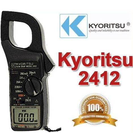 Ampe kìm đo dòng rò Kyoritsu 2412, K2412