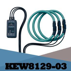 Kiềm đo dòng Kyoritsu 8129-03 (3ch, 3000A, dây mềm)