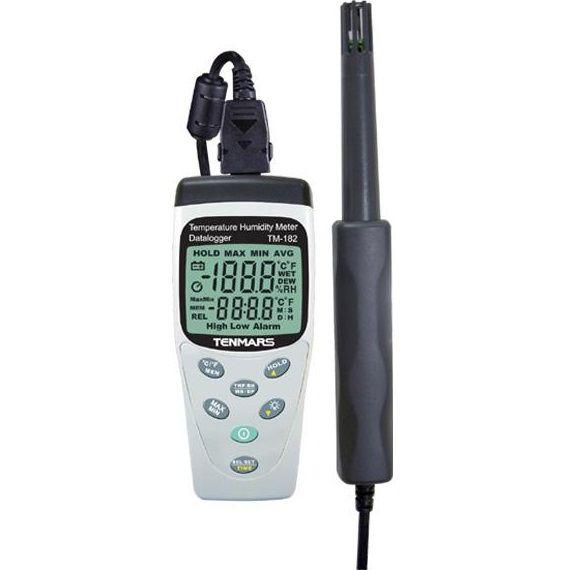 Máy đo nhiệt độ và độ ẩm Tenmars TM-182