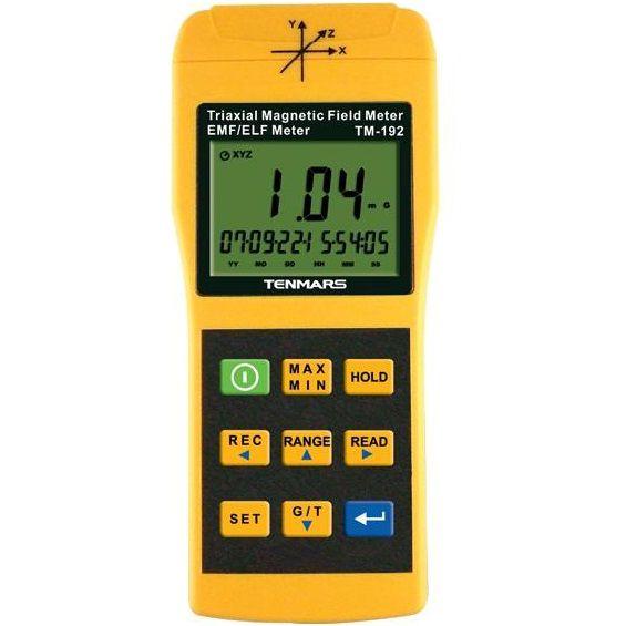 Máy đo điện từ trường Tenmars TM-192D