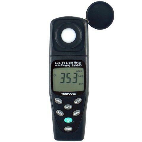 Thiết bị đo ánh sáng Tenmars TM-205