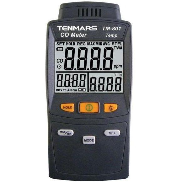 Máy đo nồng độ khí CO Tenmars TM-801