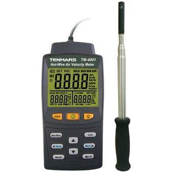 Thiết bị đo tốc độ gió cầm tay Tenmars TM-4001
