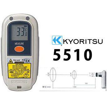 Đồng hồ đo nhiệt độ bằng hồng ngoại Kyoritsu 5510, K5510