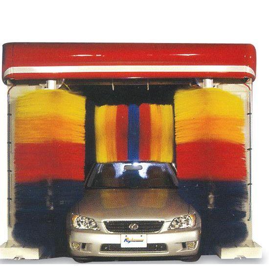 Hệ thống rửa xe tự động kiểu chổi lô quay