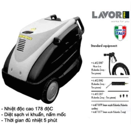 Máy rửa xe hơi nước nóng Lavor Kolumbo 2 Way