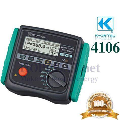 Máy đo điện trở đất, điện trở suất Kyoritsu 4106, K4106
