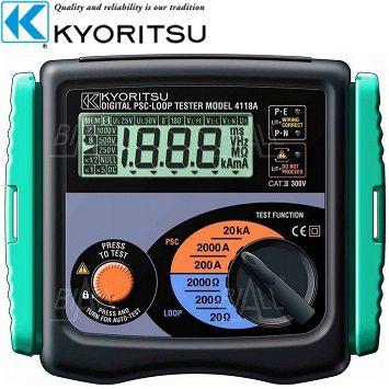 Thiết bị đo điện trở đất, điện trở suất Kyoritsu 4118A