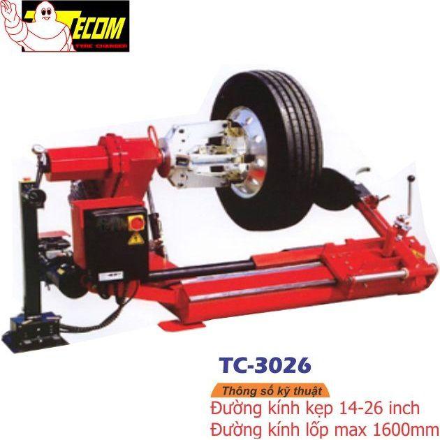 Máy ra vào lốp tự động TECOM TC-3026