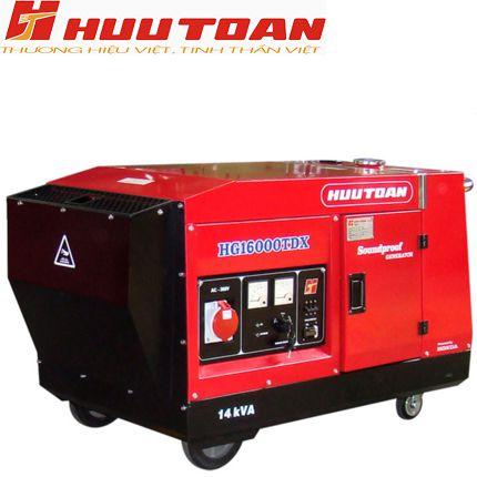 Máy phát điện Hữu Toàn HG16000TDX(SP)