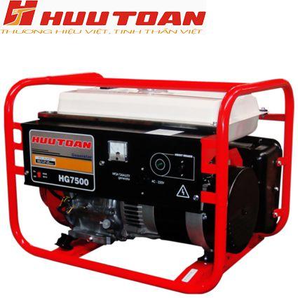 Máy phát điện Hữu Toàn HG7500(SE)