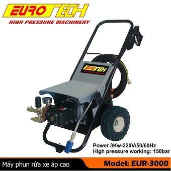 Máy phun rửa áp lực EUROTECH EUR-3000
