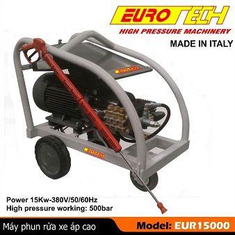 Máy phun rửa áp lực cao EUROTECH-EUR15000