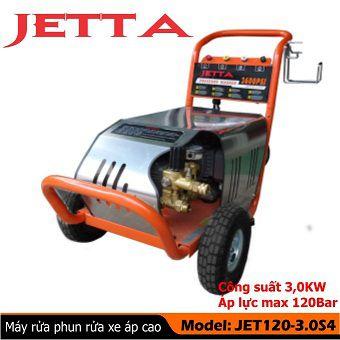 Máy phun rửa xe cao áp Jetta JET120-3.0S4