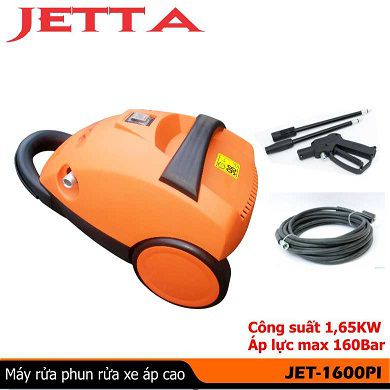 Máy phun xịt rửa xe mini cao áp JET1600Pi