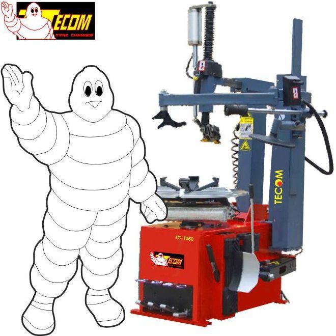 Máy ra vào lốp tự động TECOM TC-1100