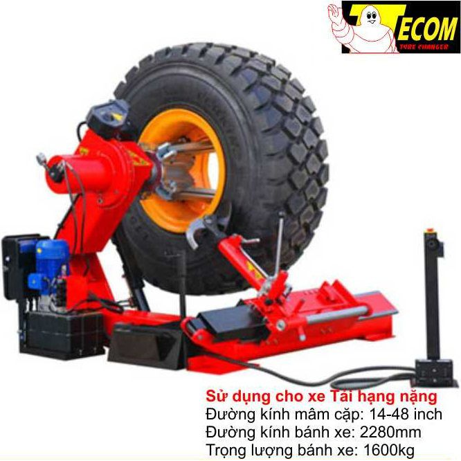 Máy ra vào lốp tự động TECOM TC-3055