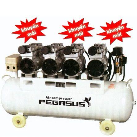 Máy nén khí dây đai, không dầu Pegasus TM-OF1100X4-300L