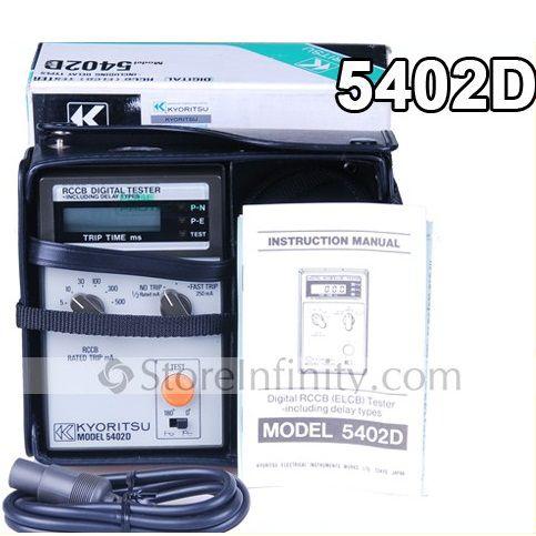 Thiết bị kiểm tra dòng rò Kyoritsu 5402D (250mA)