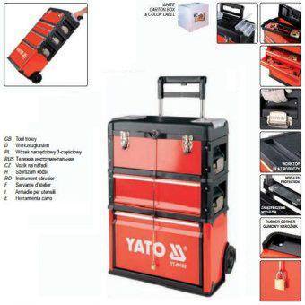 Vali đựng đồ nghề 4 ngăn Yato Model:YT-09101